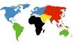 Weltkarte vom James Bond Dog Hund - Haustierverzeichnis