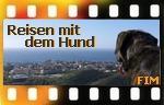 Button James Bond - Mit Hund auf Reisen in Europa Online-Marketing Ideen-Werkstatt Fim Las Palmas