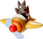 Hund und Flug