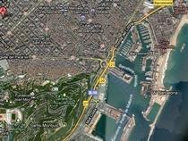 Lageplan  Laden Boutique Geschäftsräume mit Gartenwohnung in Barcelona Eixample  Costa Brava Costa del Maresme Katalonien Spanien zu verkaufen