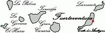 Landkarte Kanaren - Spanien