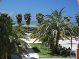 116 qm grosse, helle Wohnung in 1. Strandreihe in La Ballena an der Costa de la Luz Cadiz Andalusien Spanien zu verkaufen