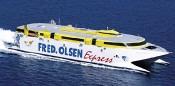 Fähre der Fred Olsen Express Ferries