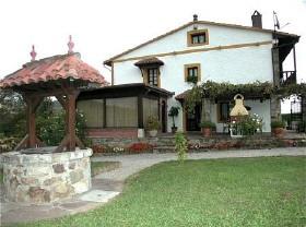 Ferienhaus Casa El Molino Parbayon Golf von Biscaya Kantabrien Spanien zu vermieten