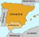 Landkarte - Andalusien - Spanien