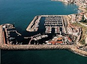 Yachthafen Port D´Aiguadolç Sitges Katalonien Spanien
