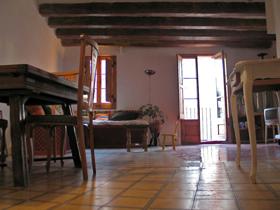 Künstlerwohnung in Barcelona Spanien zu verkaufen