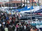 Yachthafen Marina Davila Sport Pontevedra Galicien Spanien