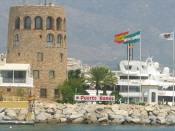 Yachthafen Puerto Banús Marbella Andalusien Spanien