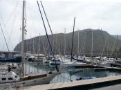 Yachthafen San Sebastian Baskenland Spanien