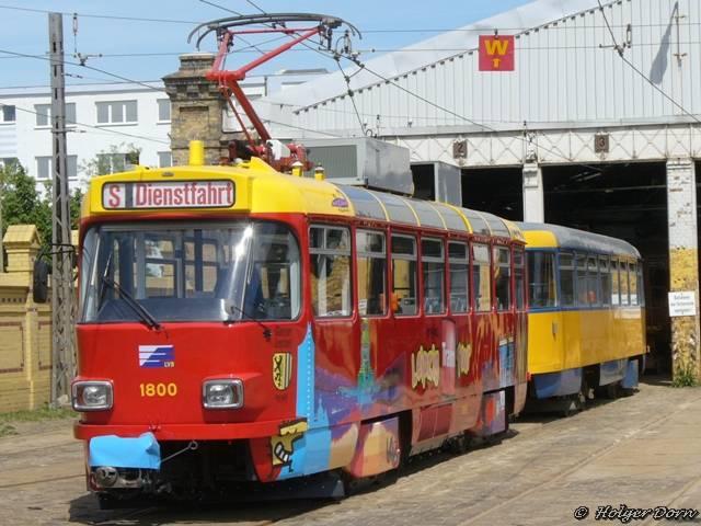 Tatra wird für Stadtrundfahrten verwendet