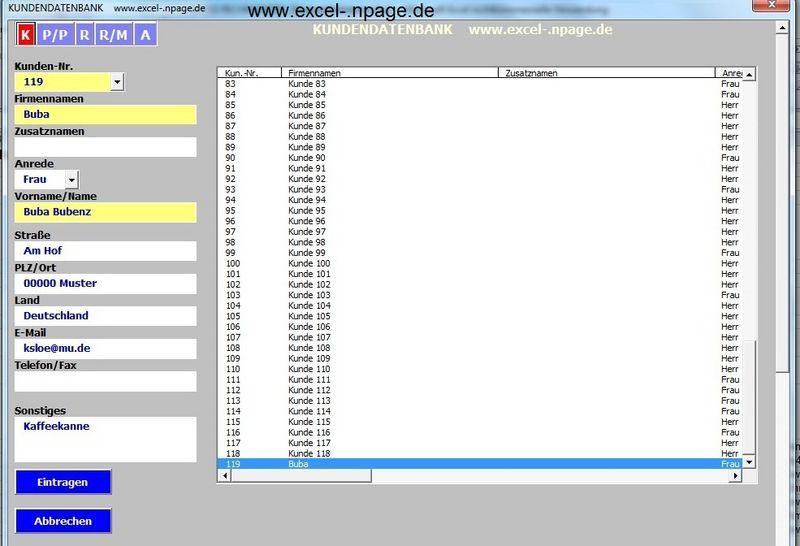 Kontakt E Mail Adresse Klste At Hotmailde Rechnungsprogramm Auf