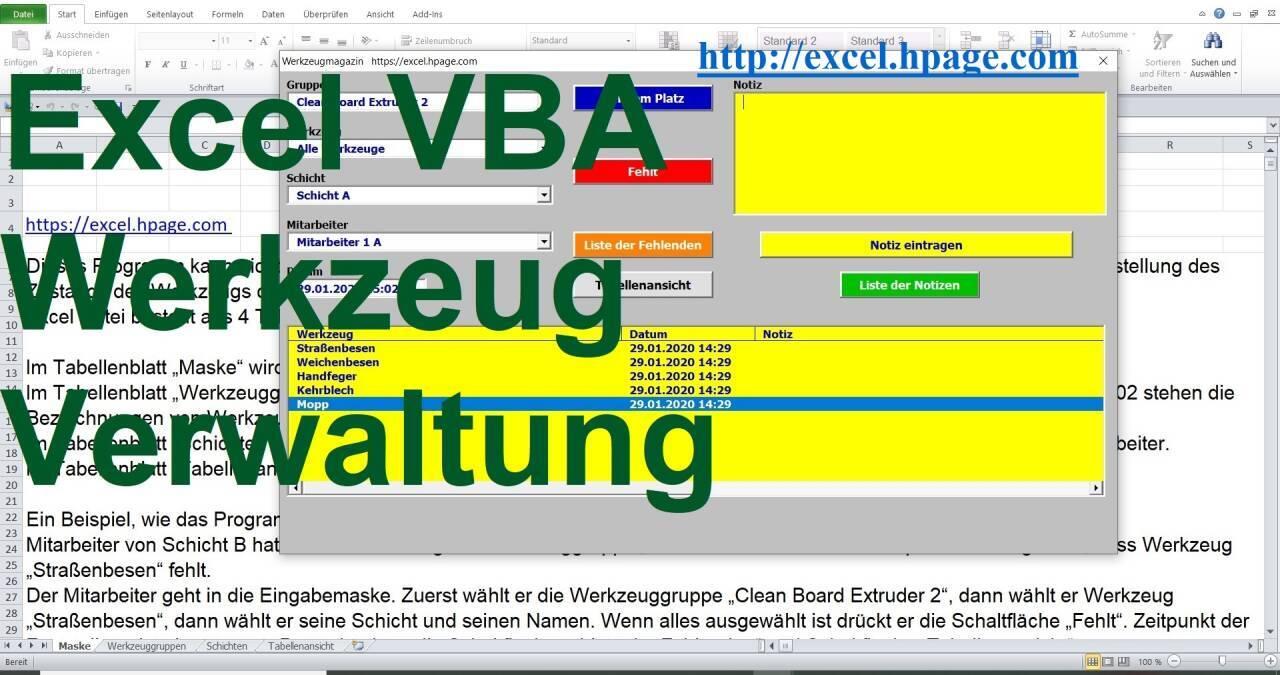 Entwicklung Von Programmen In Excel Excel Vba Programmierung Lager Personal Datenbank Spiele
