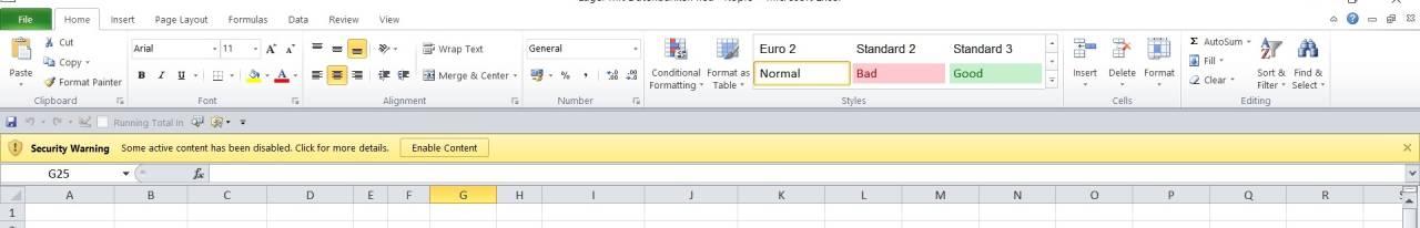 Entwicklung von Programmen in Excel, Excel VBA