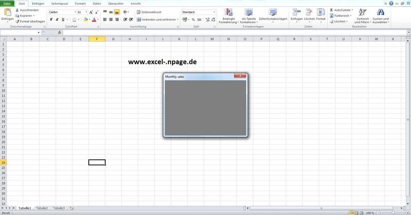 Entwicklung von Programmen in Excel, Excel VBA Programmierung: Lager