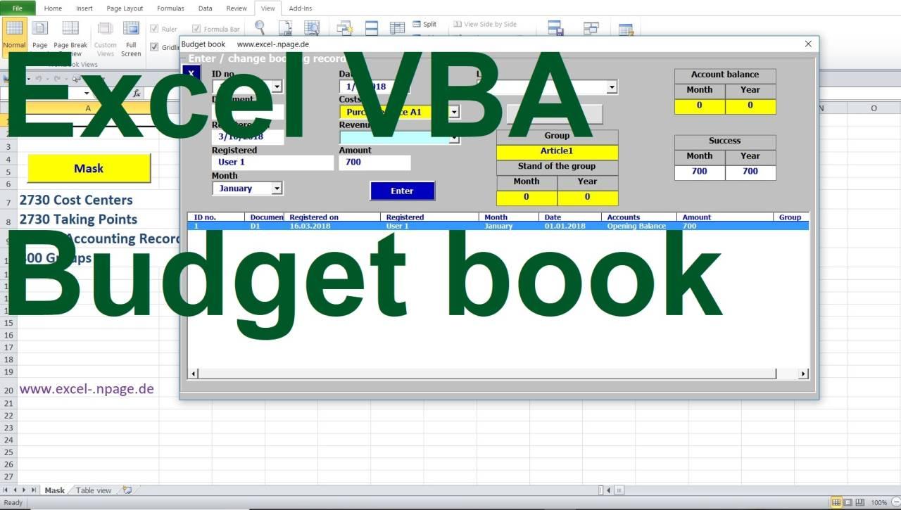 Entwicklung Von Programmen In Excel Excel Vba Programmierung Lager