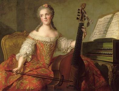 Anne Henriette de France (1754, Jean-Marc Nattier)