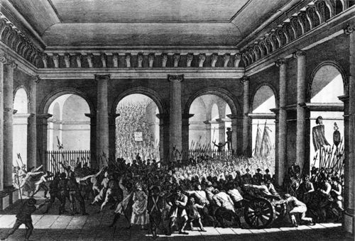 20.06.1792 - das Volk stürmt die Tuilerien