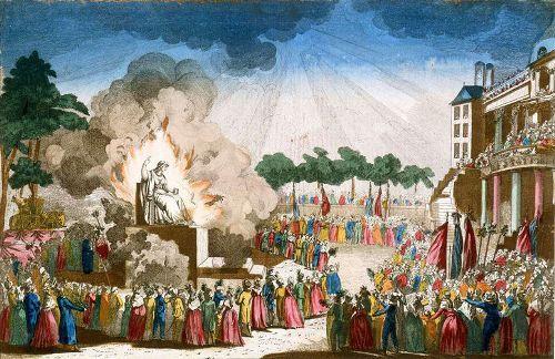 """""""Das Fest des Höchsten Wesens"""" in den Tuilerien"""