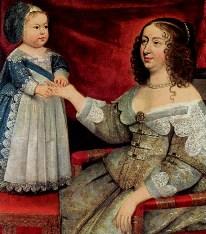 Anne & Louis XIV.