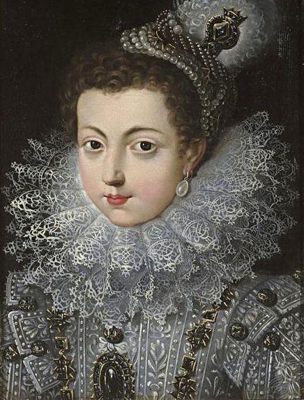 Elisabeth de France im Kindesalter