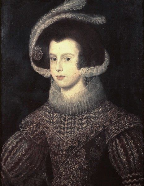 Elisabeth de France, Königin von Spanien (1625, Diego Rodríguez de Silva y Velázquez)