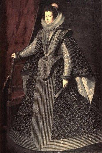 Elisabeth de France, Königin von Spanien (1630, Diego Rodríguez de Silva y Velázquez)