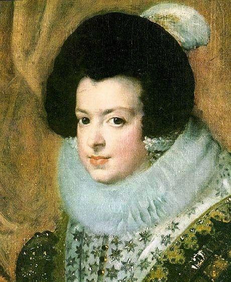 Elisabeth de France, Königin von Spanien (1632, Diego Rodríguez de Silva y Velázquez)