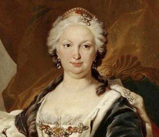 Élisabeth Farnèse (ca. 1745, Louis-Michel Van Loo)