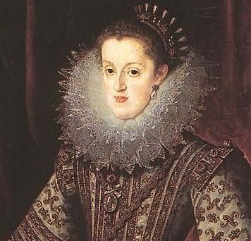 Margarete von Österreich (1609, Bartolomé González y Serrano)