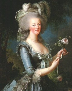 Marie Antoinette (1783, Elisabeth Vigée-Lebrun)