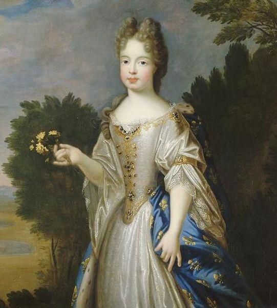 Marie-Adélaïde de Savoie, Duchesse de Bourgogne (1700, Pierre Gobert)