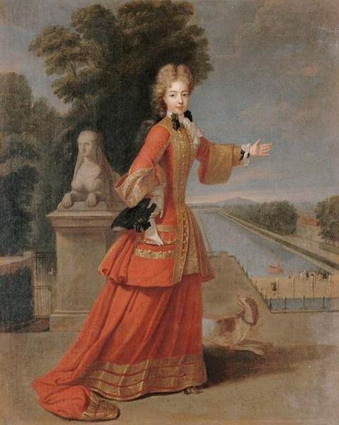 Marie-Adélaïde de Savoie, Duchesse de Bourgogne (Pierre Gobert)