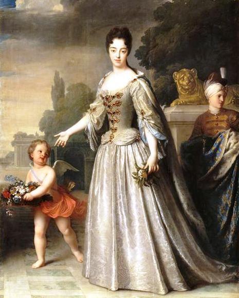 Marie-Adélaïde de Savoie, Duchesse de Bourgogne (1709, Jean-Baptiste Santerre)