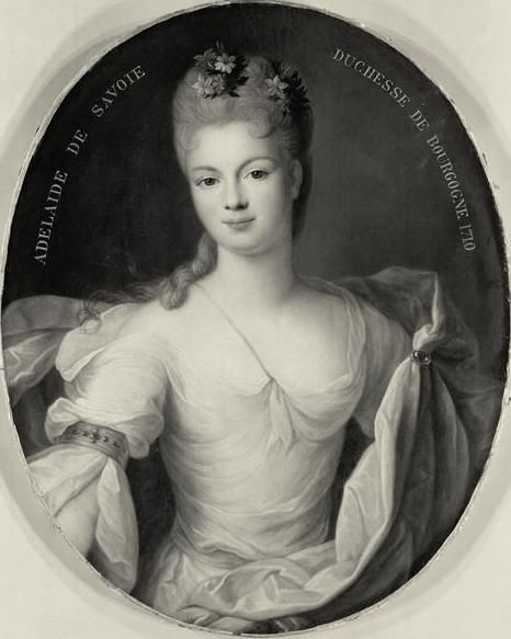 Marie-Adélaïde de Savoie, Duchesse de Bourgogne (1710, Pierre Gobert)