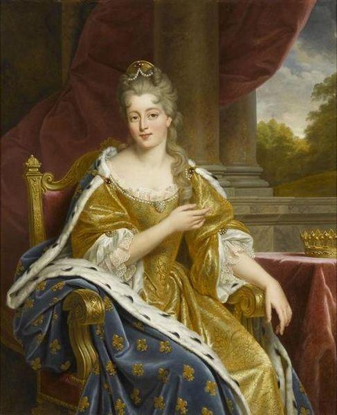 Françoise Marie im Jahr 1692 (1834, Alexandre-François Caminade)