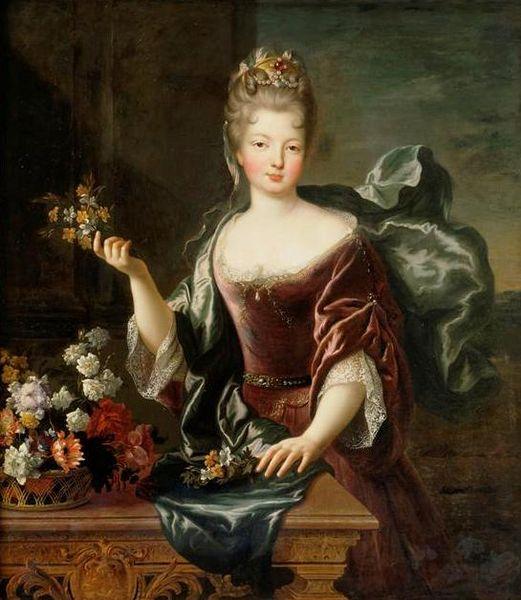 Françoise Marie (1692, François de Troy)