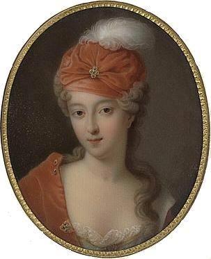Françoise Marie, 1710