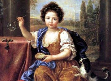 Mademoiselle de Tours (1680, Pierre Mignard)