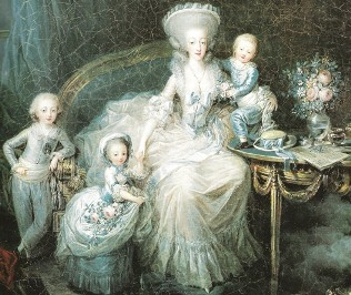 Marie-Thérèse de Savoie und die Kinder