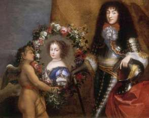 Philippe mit Bild von Henriette