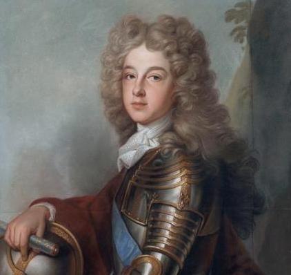 Philippe d´Anjou / Philippe V. von Spanien (1700, Joseph Vivien)