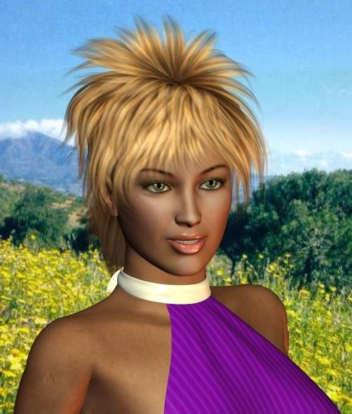 F10 kurz blond