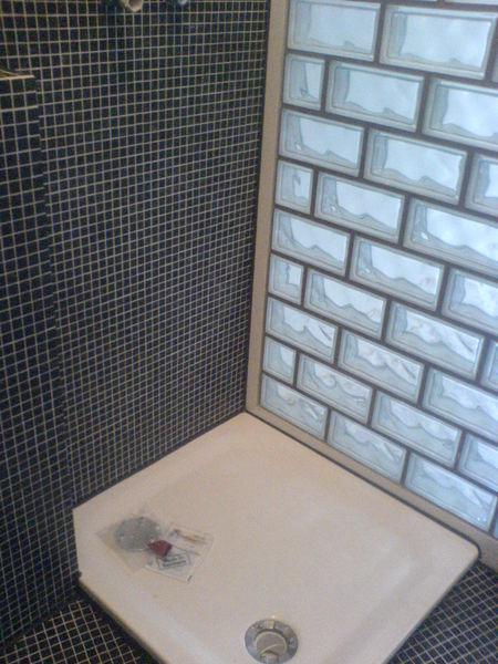 dusche naturstein mosaik raum und m beldesign inspiration. Black Bedroom Furniture Sets. Home Design Ideas