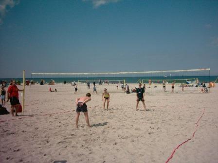 Am Strand von Warnemuende