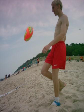Am Strand von Kuehlungsborn