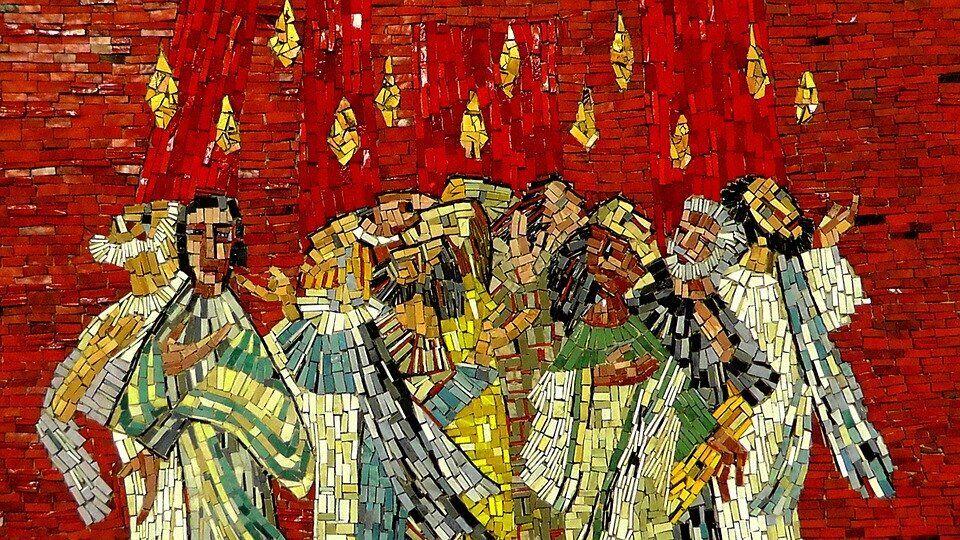 Mosaik, Bild, Kunst, Christen, Glauben, Christentum