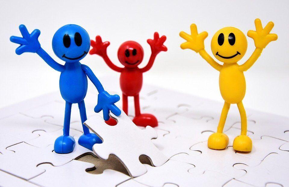 Teamwork, Miteinander, Ziele, Gemeinsam, Schaffen