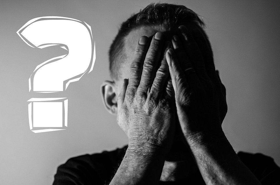 Fehler, Facepalm, Warum, Falsch, Fragezeichen, Frage