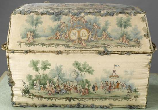 """""""Coffre à layette"""" - das Geschenk der Stadt Paris anlässlich der Geburt des Thronfolgers"""